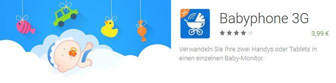 Babyphone 3G App