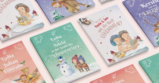personalisierte Kinderbücher von Fabelfeder