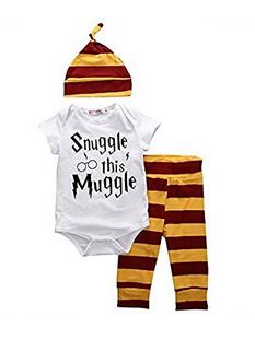 Snuggle this Muggle Body , Hose und Mütze - Set