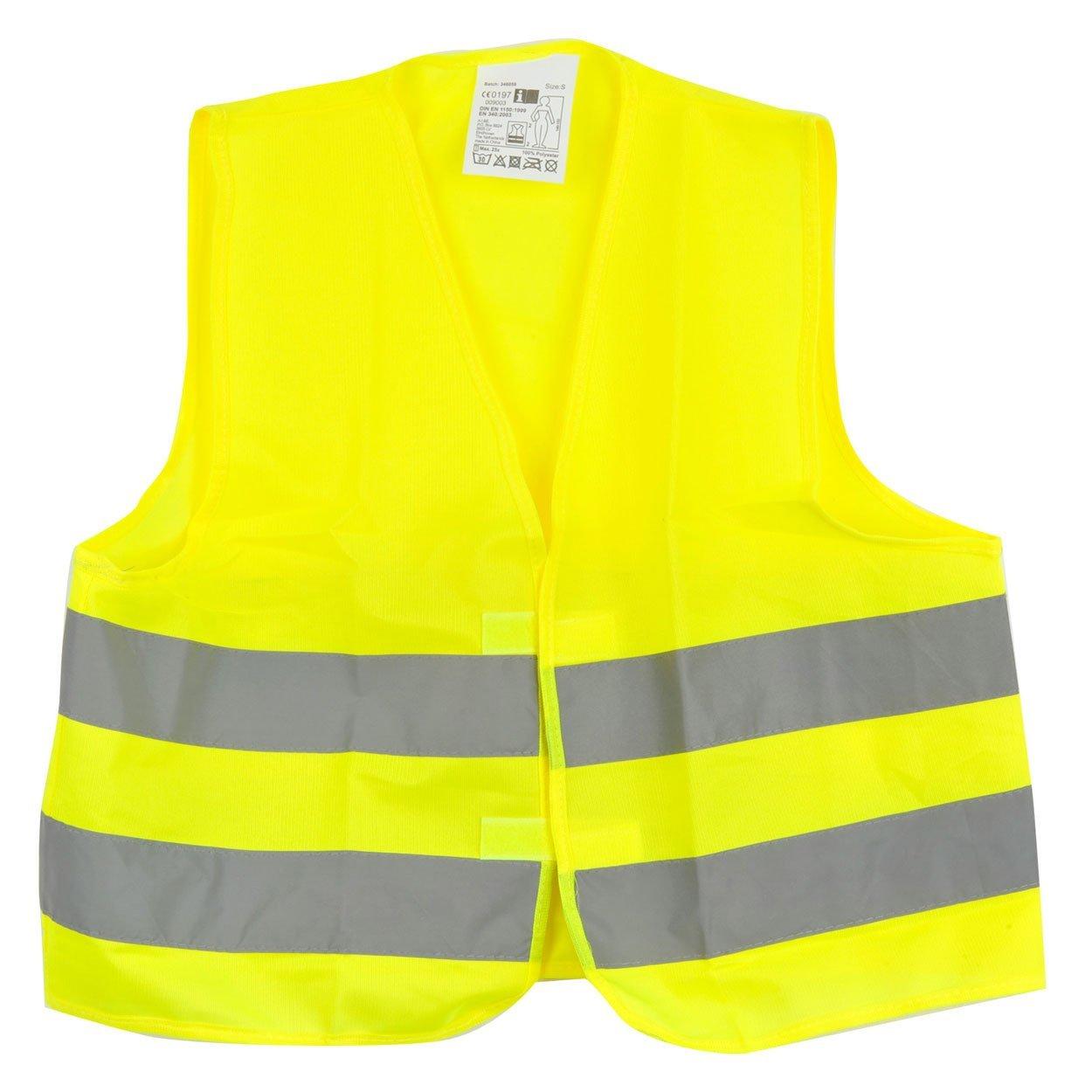 Warnweste in gelb