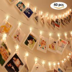 Lichterkette mit Beispielfotos