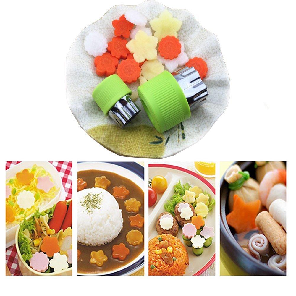 Ausstechbeispiele mit Gemüse