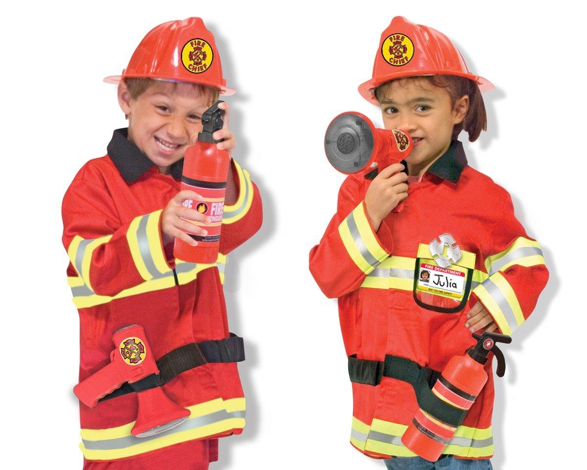 Kostüm für Feuerwehrmänner