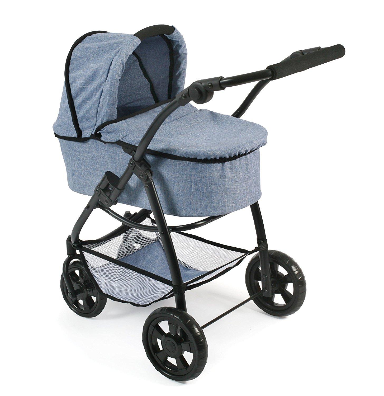 Puppenwagen mit Babywanne