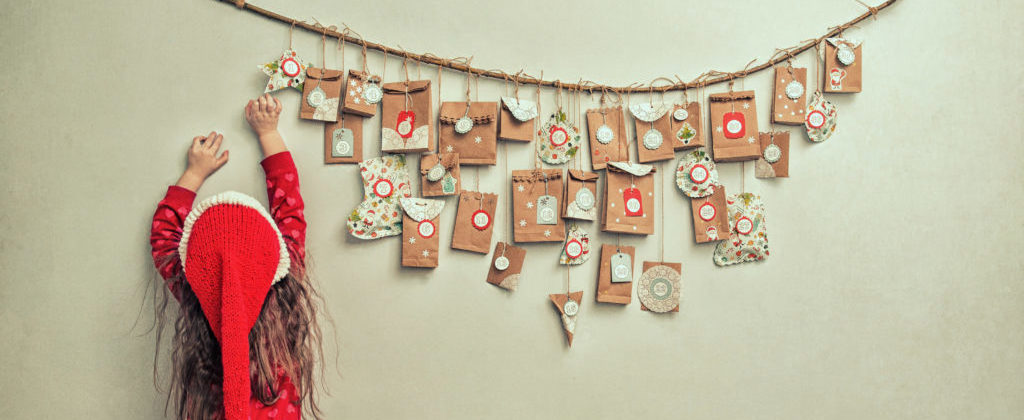 Banner: Adventskalender selbst basteln & befüllen