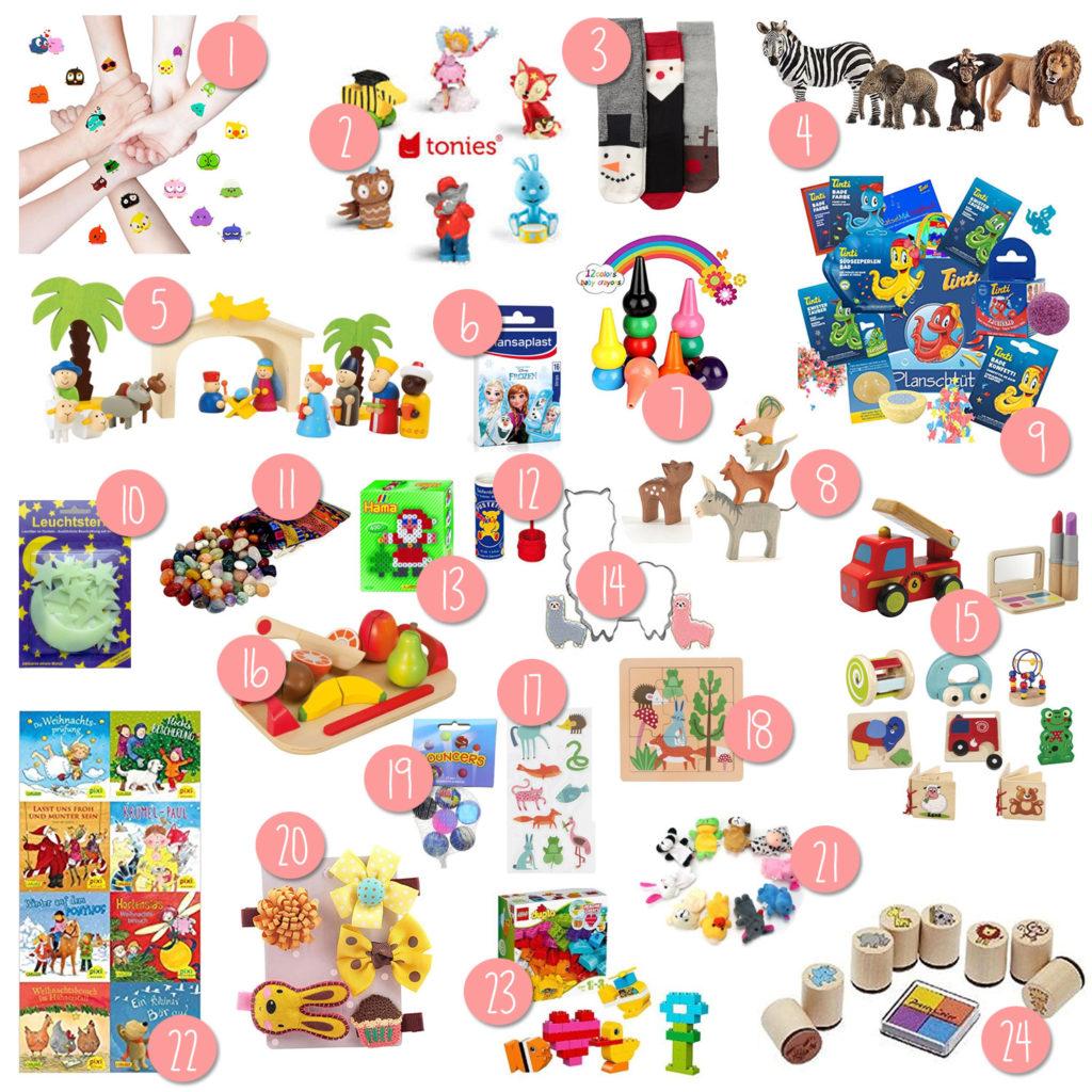 Adventskalender Spielzeugideen DIY