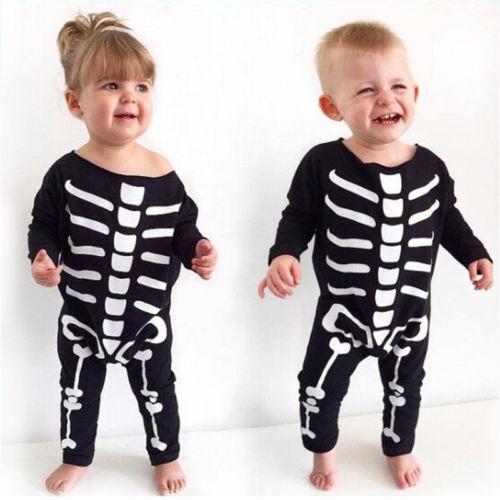Skelett Anzug für Babys