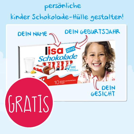 Gratis Eure Kids Auf Der Kinder Schokolade Meinbaby123de