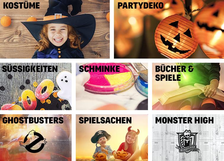 Kategorien für 3 für 2 Halloween Deal