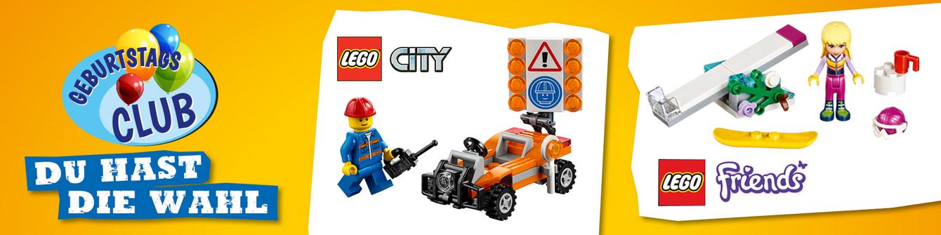 vedes Geburtstagsclub Lego Geschenk
