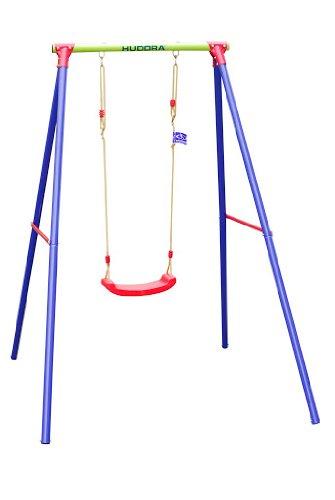 Schaukelgestell rot blau