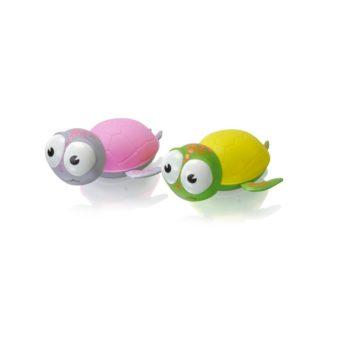 nachtlicht schildkröten rosa und gelb