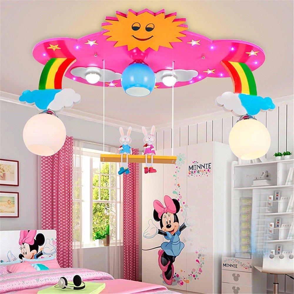 Deckenleuchte im Kinderzimmer