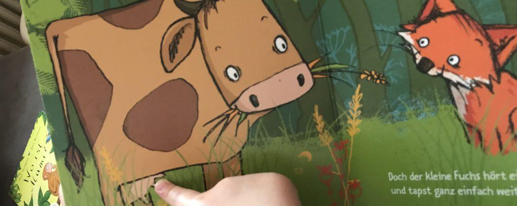 Banner: Der kleine Fuchs hört einen Mucks