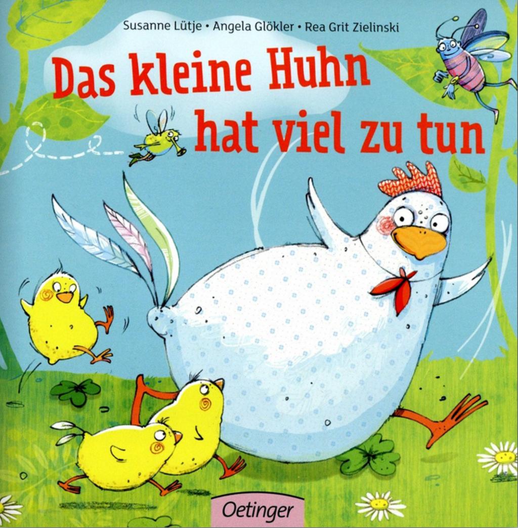 Buch das kleine Huhn hat viel zu tun