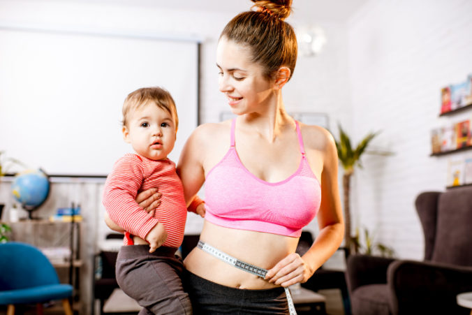 After-Baby-Body Sport mit Baby