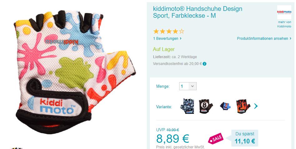 Kiddimoto Handschuhe