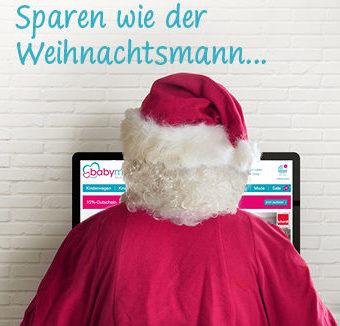 Weihnachtssale Sparen wie der Weihnachtsmann