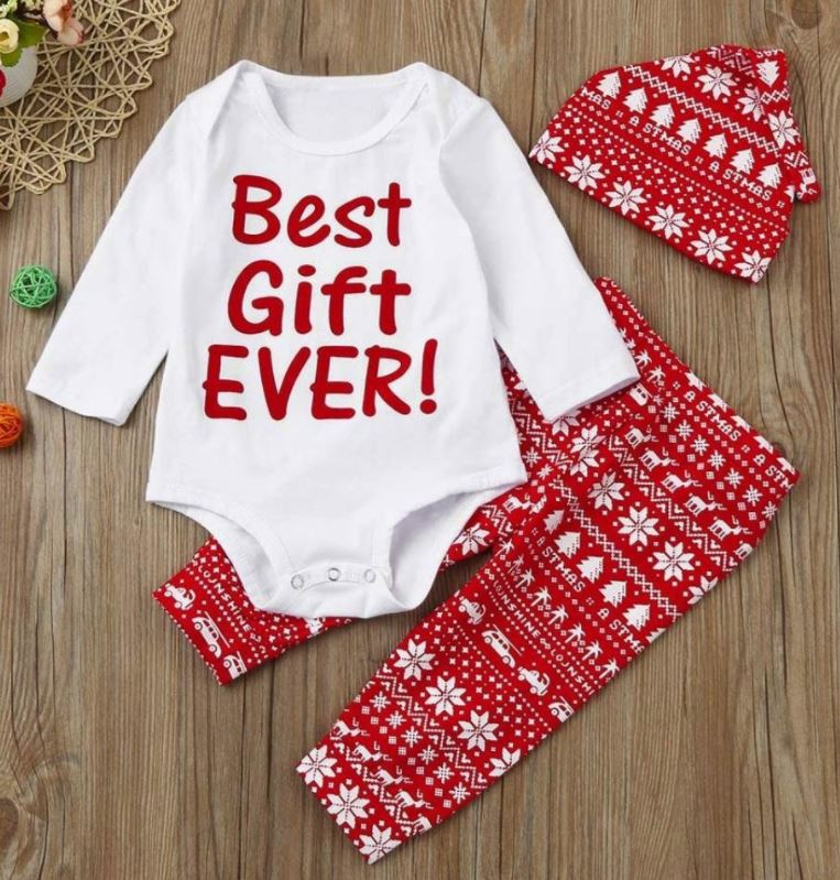 """Babyoutift mit der Aufschrift """"best gift ever"""""""