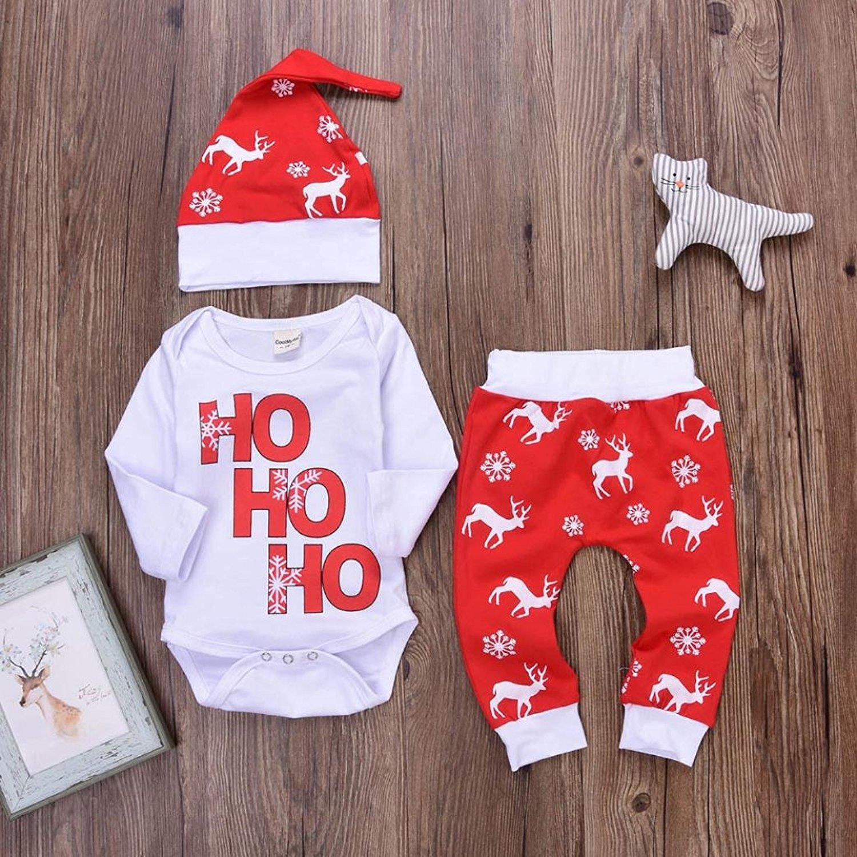 """Weihnachtsoufit """"Ho ho ho"""" für Babys"""