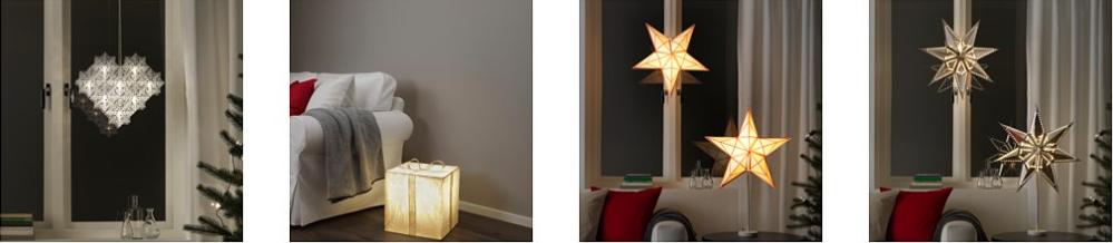Ikea Weihnachtsbeleuchtung