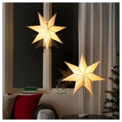 Weihnachtsbeleuchtung sterne