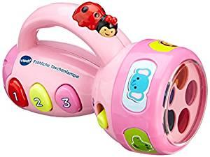 Vtech fröhliche Taschenlampe in rosa