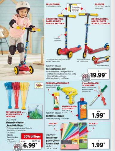 Lidl Spielzeug im Angebot Prospekt