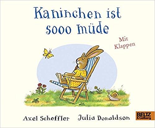 """""""Kaninchen ist sooo müde"""" Buch"""