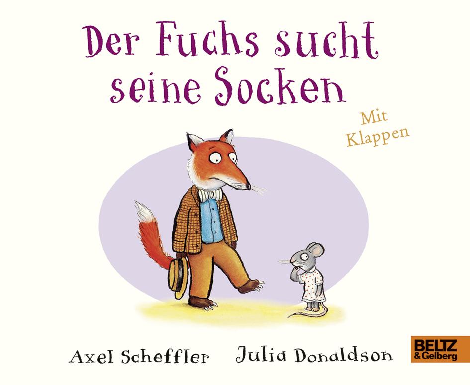 """""""Der Fuchs sucht seine Socken"""" Buch"""