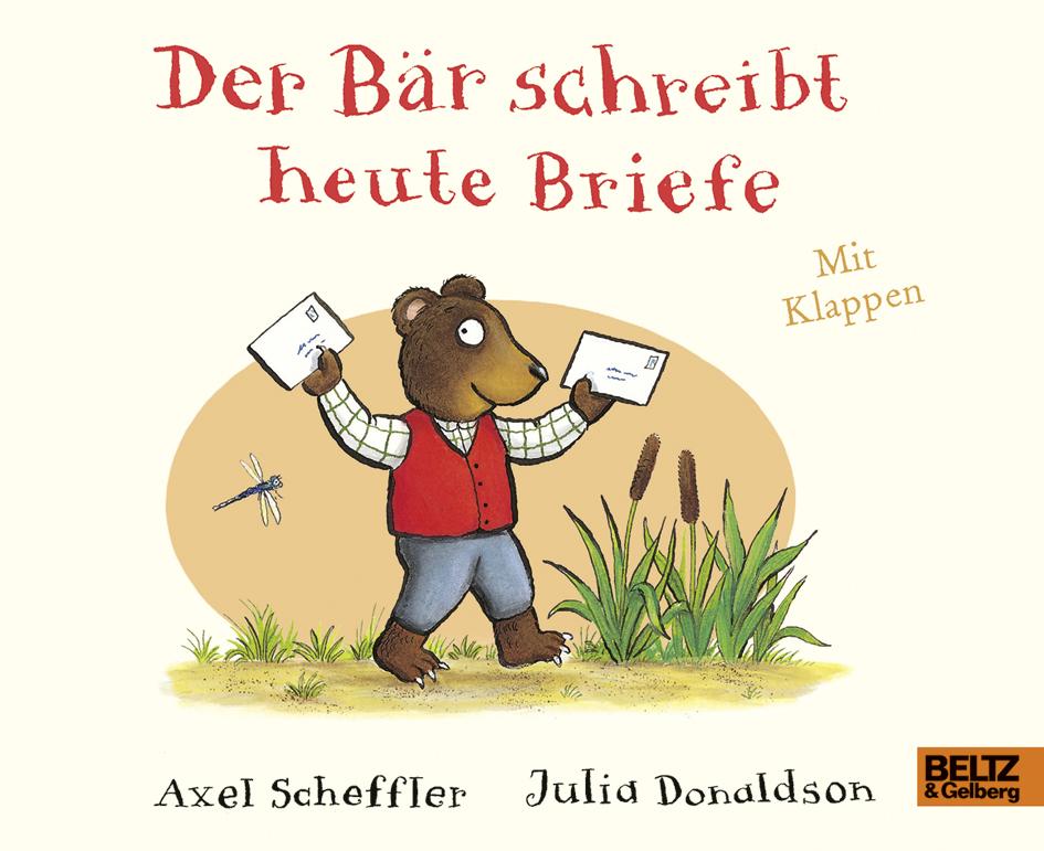 der Bär schreibt heute Briefe Buch