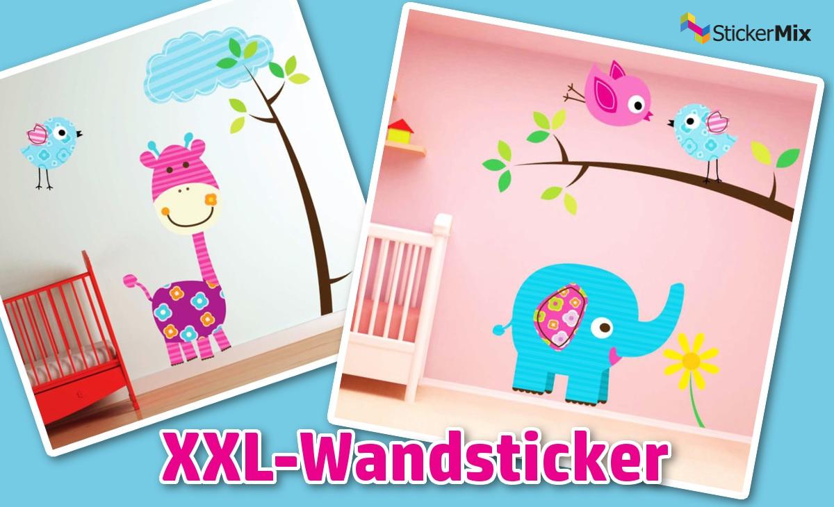 XXL Wandtattoos von Stickermix.de