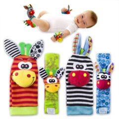 Babyrasseln für Hände und Füße