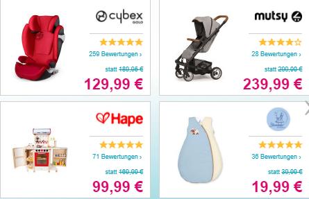 Tagesdeal Babymarkt