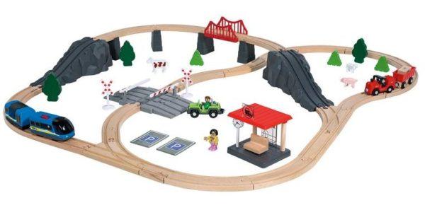 Holzeisenbahn von Playtive