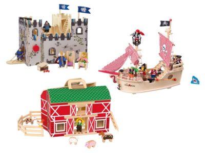 Spielewelten aus Holz von Playtive