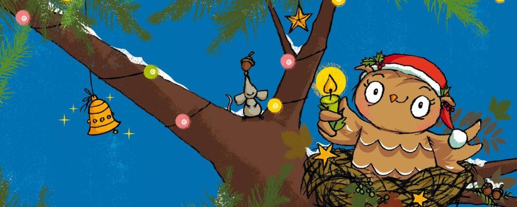 Banner: Die kleine Eule feiert Weihnachten