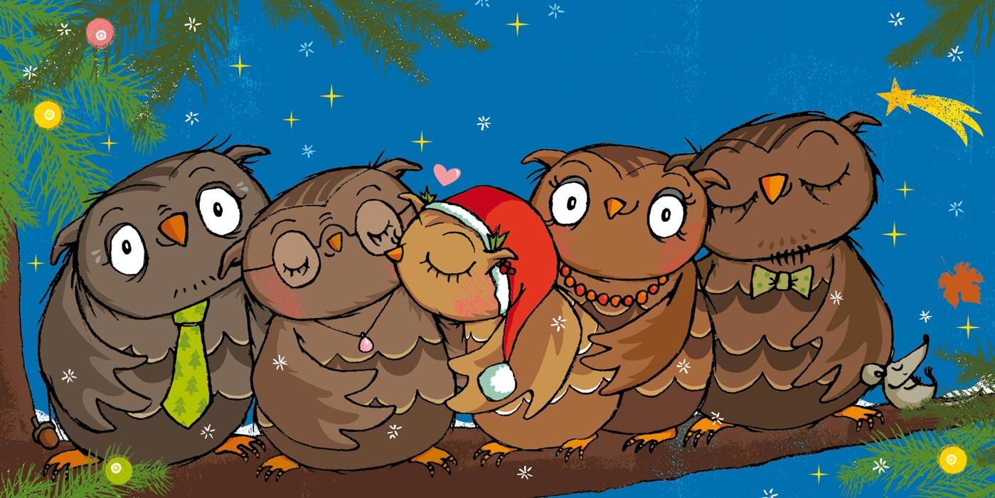 Die Kleine Eule Feiert Weihnachten Meinbaby123de