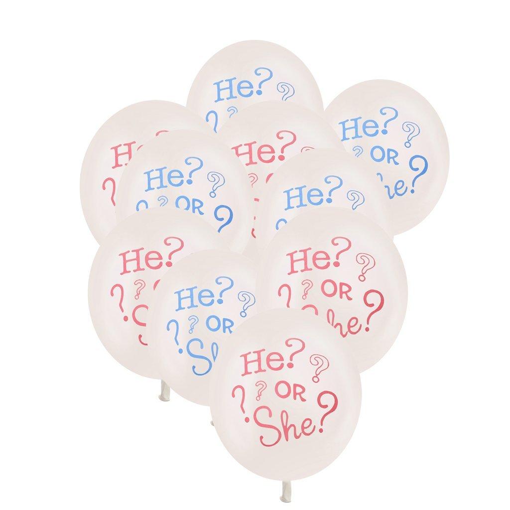 He or She Ballons