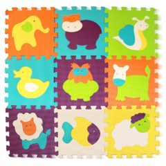 Puzzlematte Tiere