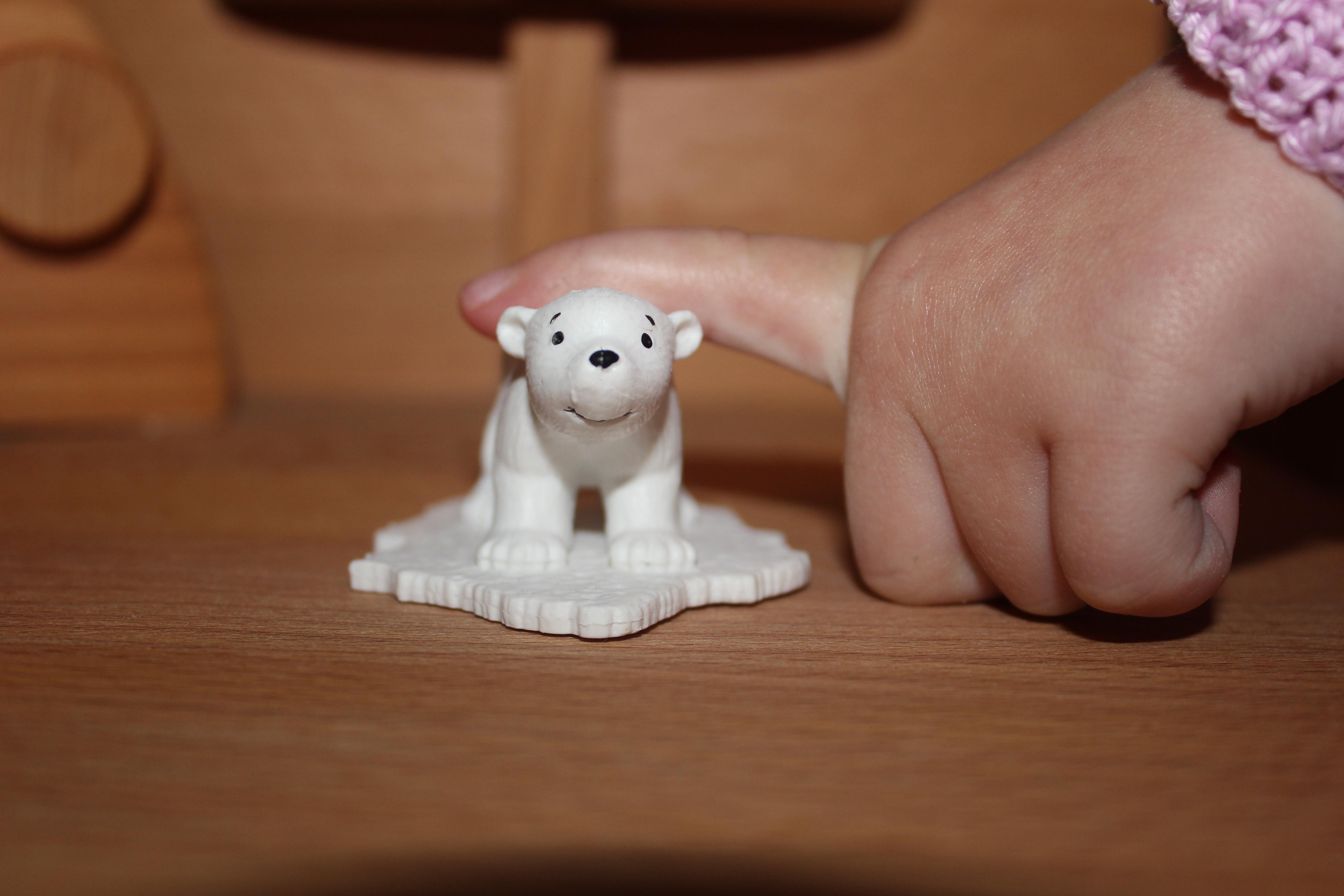 Der kleine Eisbär Figur