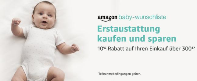 Babyausstattung auf Amazon