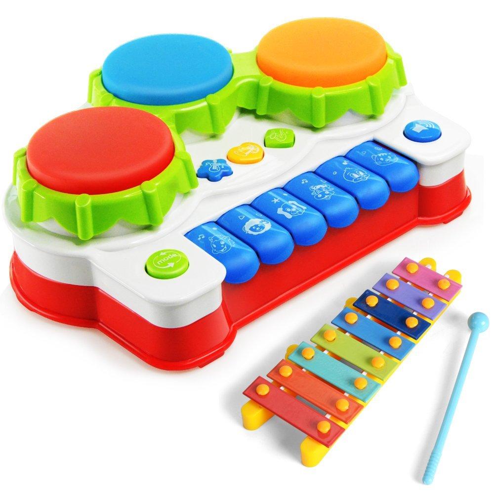 Kinder Keyboard, Trommel, Xylophon