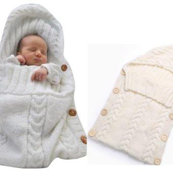 Schlafsack gestrickt