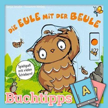 Die Eule mit der Beule Buch-Cover