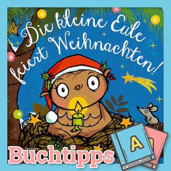 Die kleine Eule feiert Weihnachten Buch-Cover