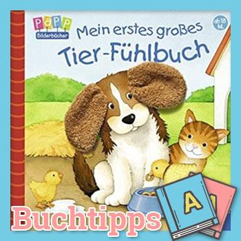 Mein erstes großes Tier-Fühlbuch Buch-Cover