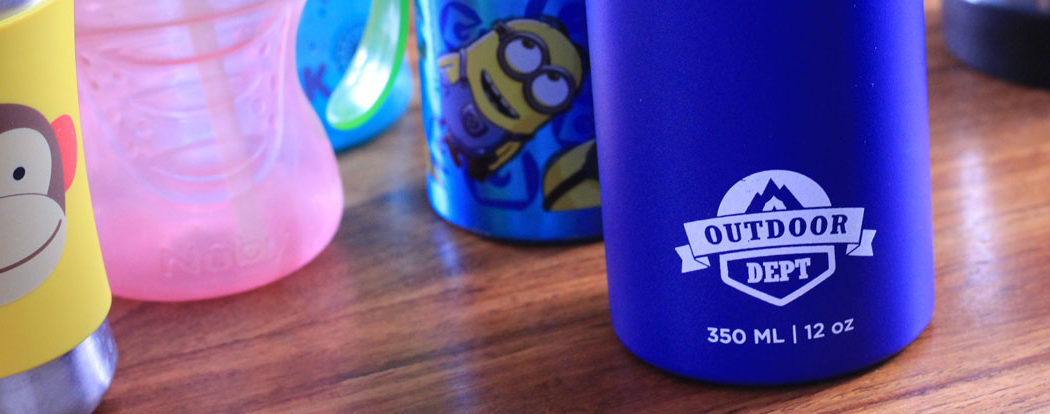 Banner: Eine Trinkflasche fürs Kind, die alles kann