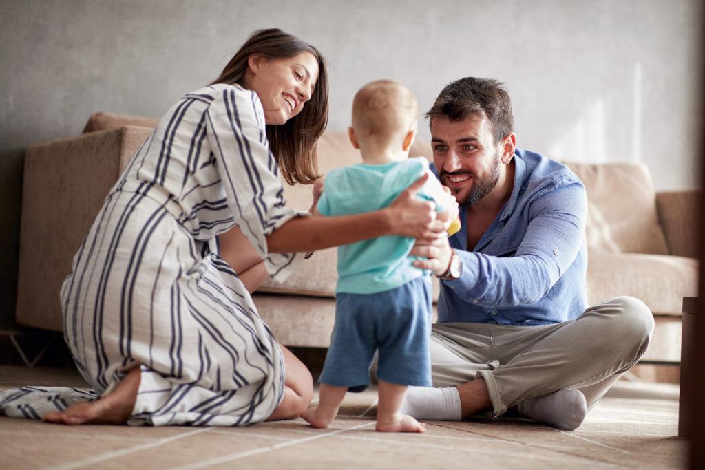 Stiefkind mit Eltern