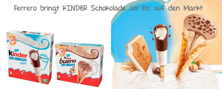 Kinderschokolade Eis